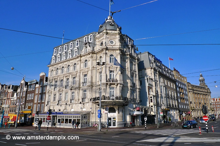 Victoria Hotel, Amsterdam......The Victoria Hotel opened its doors on August 19, 1890. It is still very elegant inside.