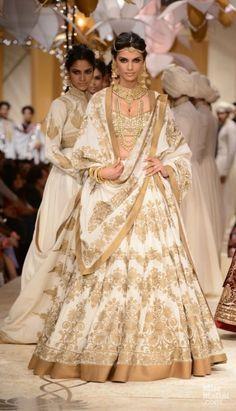 Rohit Bal bridal lehenga