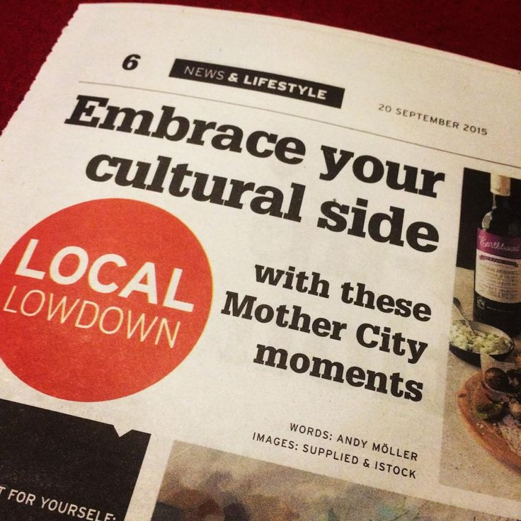 Remember guys, tommorow is #InternationalOrganicDay, so keep the menus healthy! PS - Another great issue, @yourneighbourhoodza . #capetownlife #CapeTown #lifestyle #news #LocalLowdown #art #events