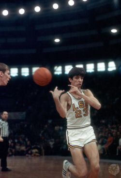"""Pistol"" Pete Maravich. LSU. NCAA All-Time Points Leader...This  Was BEFORE THE THREE-POINT LINE!!!!"