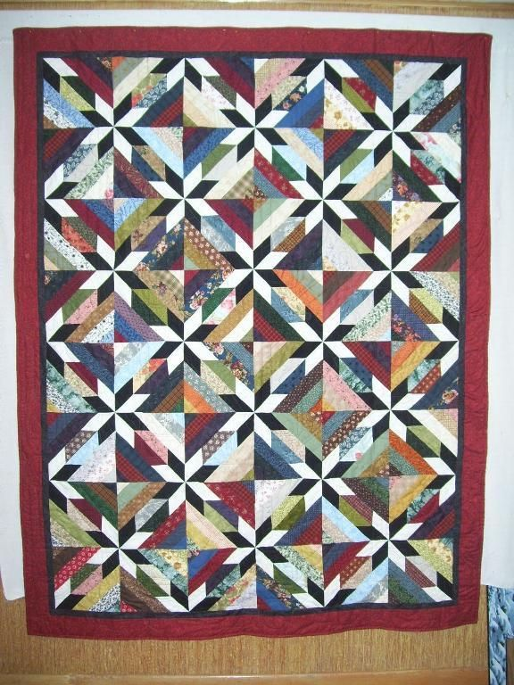 101 Best Hunter Star Quilts Images On Pinterest Star
