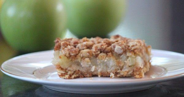 Apple Crumble Slice | Brenda Janschek