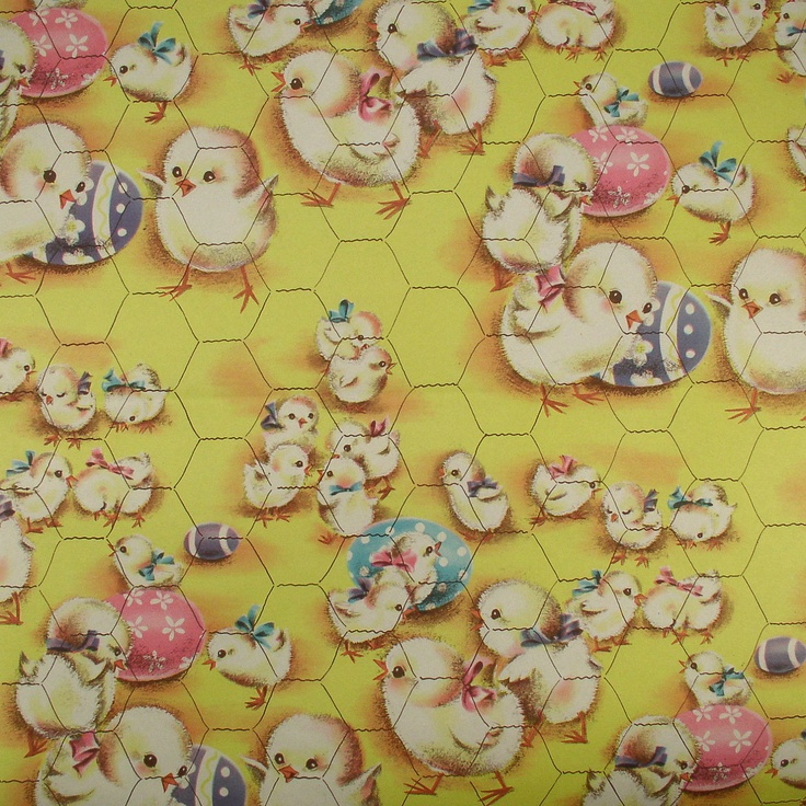 301 best vintage gift wrap images on pinterest wrapping papers chicks decorated eggs it must be easter vintage wrapping paper gift wrap negle