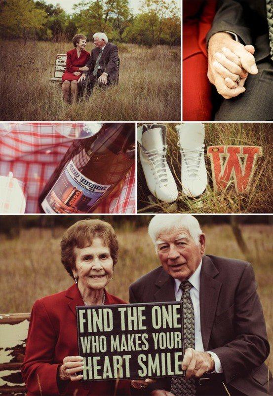 milestone anniversaries: Ideas, 50Th Anniversary, Sweet, My Heart, Old Couple, Older Couple, Heart Smile, Anniversary Photos