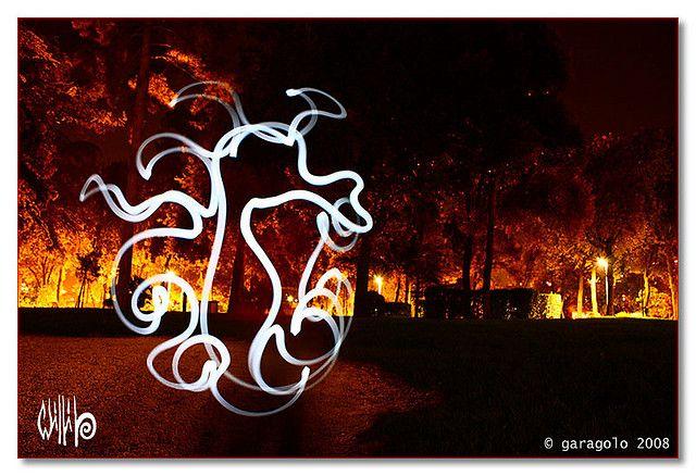 Signes De Lumière - light painting - light art - photography - 26/10/2008