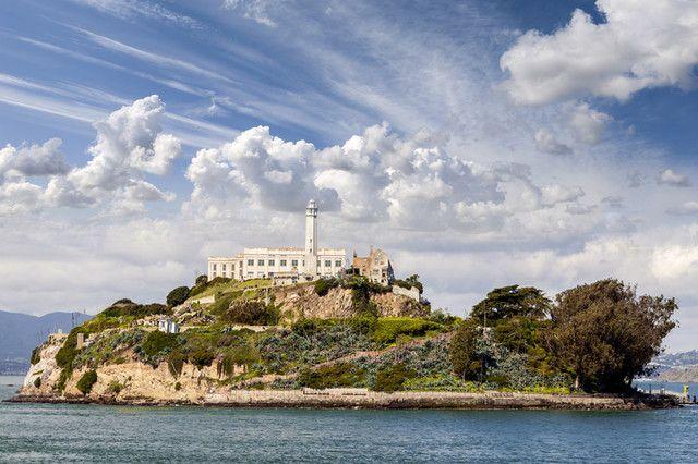 Lokasi penjara Alcatraz yang ...