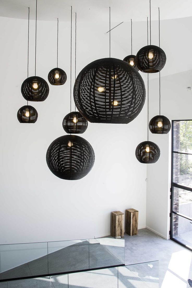 FREYA HOME STYLING DARK SANGHA ('s) black interior design #lighting #project at Bekkevoort BE
