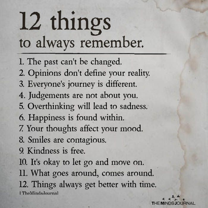12 Things To Always Remember In Life [In 2020] in 2020