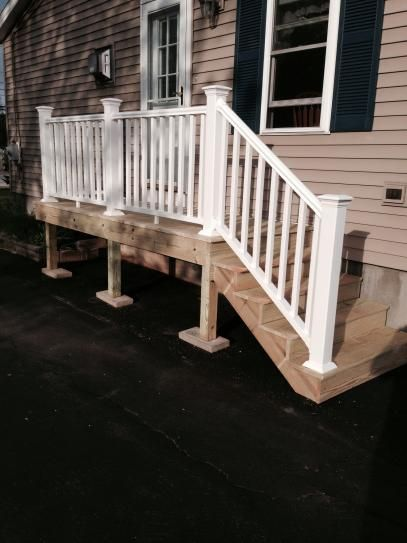 White Traditional Stair Kit