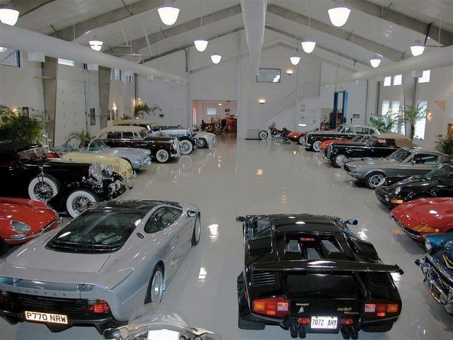 2 car garage organization ideas - Upgrade Your Garage to Presidential Style With These White