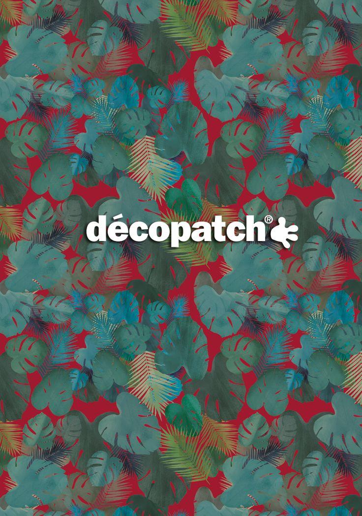 "Papier Décopatch Collection ""Verte"" #DIY #Papier #Decopatch #HomeDeco #Creative #Handycraft #Vert #Green #Paper"