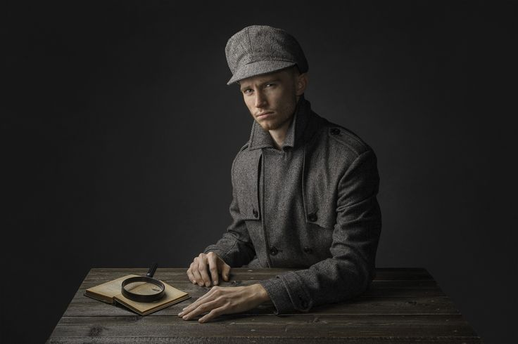 https://flic.kr/p/qbox9u | The Inspector | Model: Wes Bauer  Another image that I liked from my shoot with Wes.  Lighting info: - AlienBee B800 in med. soft box, camera left at aprox. 30 degree angle - AlienBee B800 in med. soft box behind camera, up high, for fill - C. Buff Cybercync triggers - Custom hand painted Oliphant Studio canvas backdrop  Canon 5d Mkll Canon 24-105mm 'L' Lens F/11 - 125th sec. - 125 ISO Photoshop CS6  Facebook Website Instagram Ello