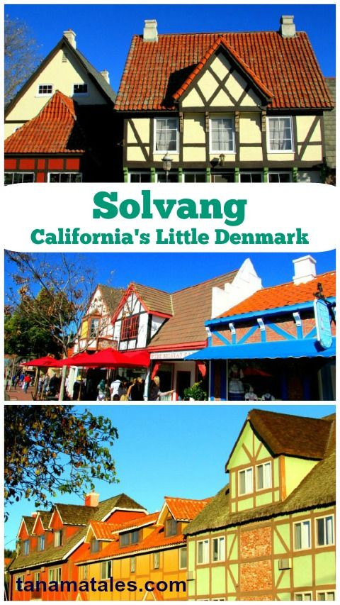 Plan your visit to #Solvang, California's Little Denmark. This town located in the Santa Ynez Valley (Santa Barbara County) offers a wide range of options to the visitor. Learn more at tanamatales.com