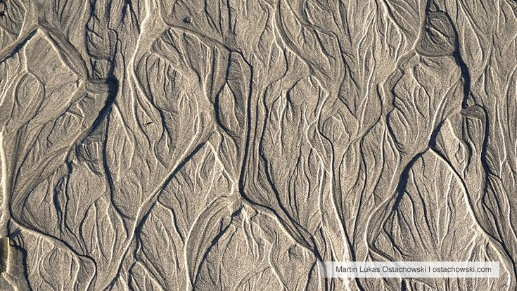 4 Abstract Patterns in the Intertidal Zone #beach #abstract #pattern #textures #textures #plage #strand #sand #sable