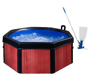 Spa-N-A-Box 6 Portable Spa w/ Massaging Jets, Cover & Vacuum