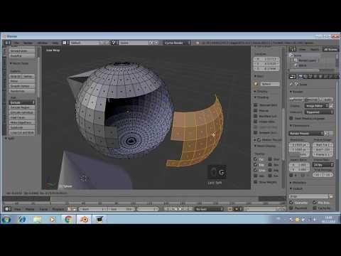 Blender3D 3 Kısayol tuşları 2 - YouTube