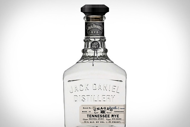 Jack Daniel's Unaged Rye Whiskey ($ 50) is the first new mashbill to come out of Lynchburg in over 100 years, and surprises drinkers with a sweet and fruity smell, plenty of rye bite, and a crisp, dry finish. Available in Tennessee in December, and arriving elsewhere early next year.