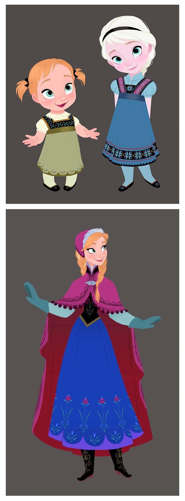Frozen | Anna & Elsa by Brittney Lee