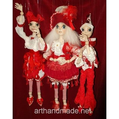 Theater-puppets. Author Marysia Semitsvet - http://arthandmade.net/marisya.semicvet  Doll, puppet, marionette, theatrical doll, puppet show, handmade doll, gift, original gift, craft, handmade, collection, Gallery Magical World, кукла, купить куклу, коллекционная кукла, интерьерная кукла, кукла ручной работы, подарок, оригинальный подарок, коллекция, ручная работа, Галерея Волшебный мир