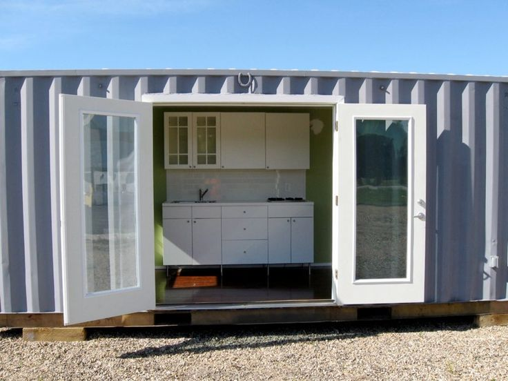 Conex deer camp for the boys pinterest home camps and deer - Conex container homes ...