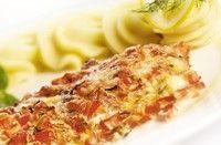 eten recept vis Vis tomaat oven