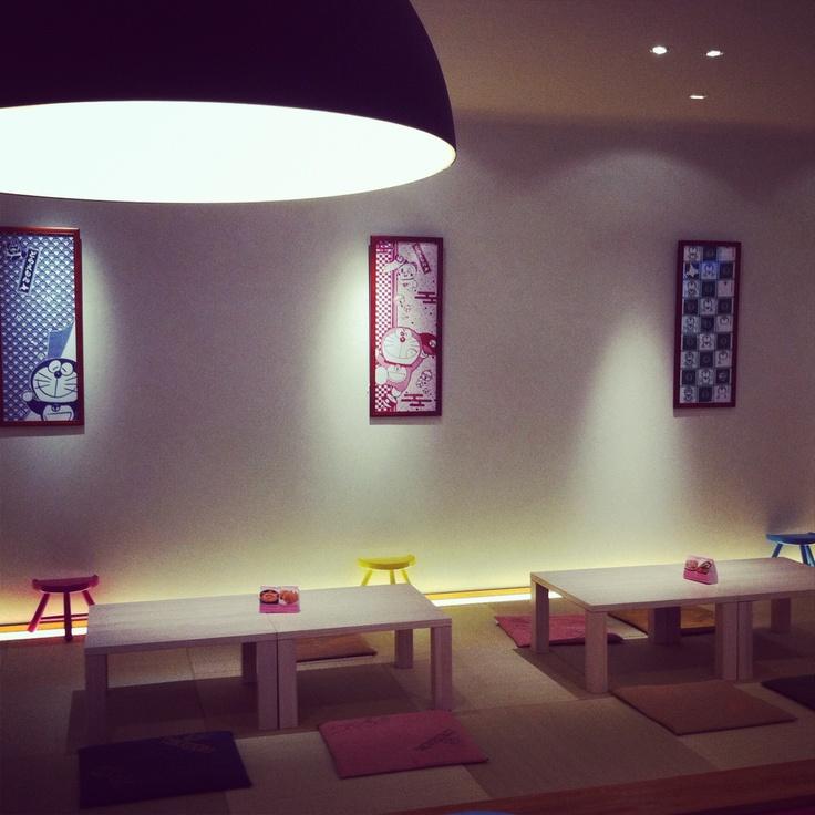 DORAEMON Cafe in Shinchitose Airport