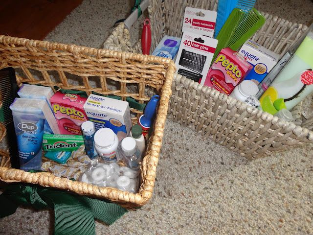 Welcome Gift Baskets For Wedding Guests: 17 Best Images About Overnight Guests On Pinterest
