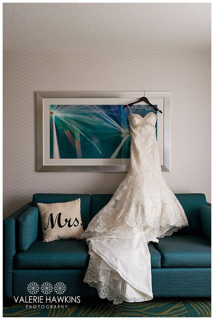 When a bride gets ready in a nice hotel suite, the photography possibilities are wonderful.  Mrs. Pillow