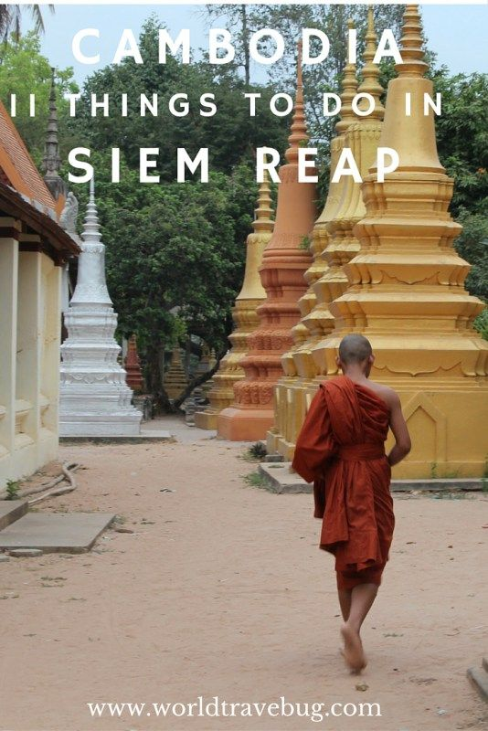 Siem Reap - Much more than temples! International chefs, creative bartenders and local and international artists, they all contribute to making Siem Reap what is it today