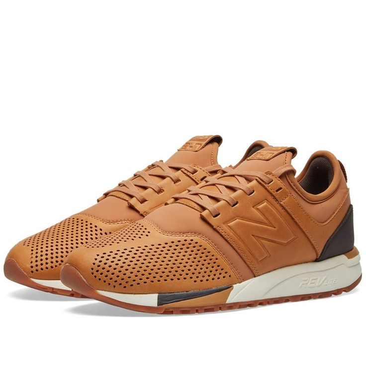 new balance 247 luxe mens running shoes brown mrl247ta leather nz