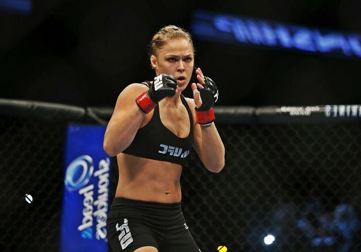 Ронда Роузи покорение UFC