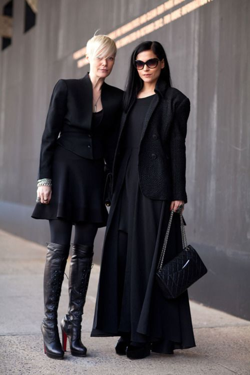 I could not pull off either of these outfits, but still, awesome.