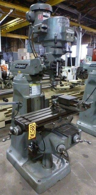 BRIDGEPORT VERTICAL MILLING MACHINE SERIES I With New DRO (28576) #Bridgeport