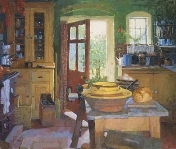 134 Best Images About Oil Paintings Interiors On Pinterest