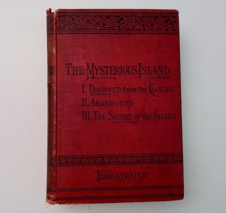 The Mysterious Island The Modern Robinson Crusoe Jules Verne 1894 Illus. Book