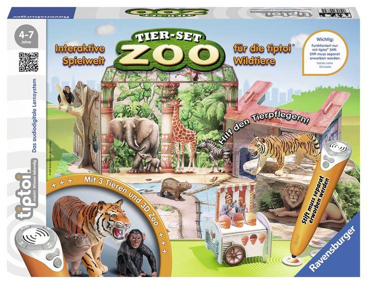 tiptoi Spielset Zoo