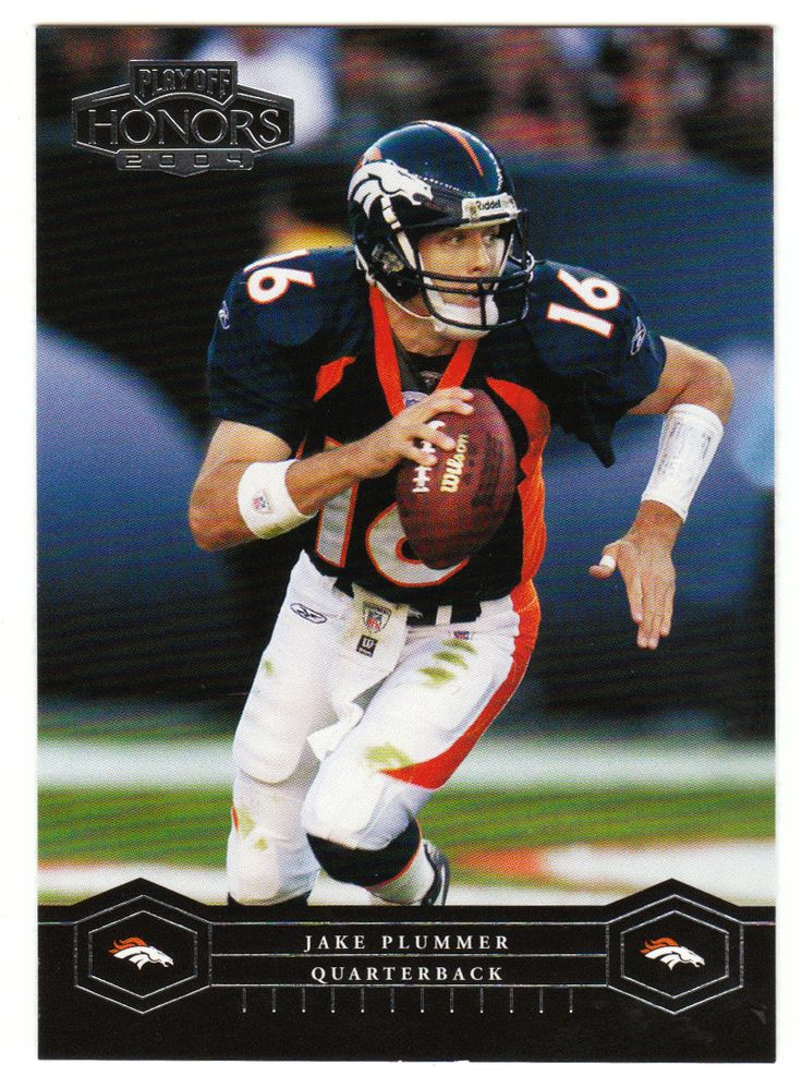 Jake Plummer # 29 - 2004 Playoff Honors Football