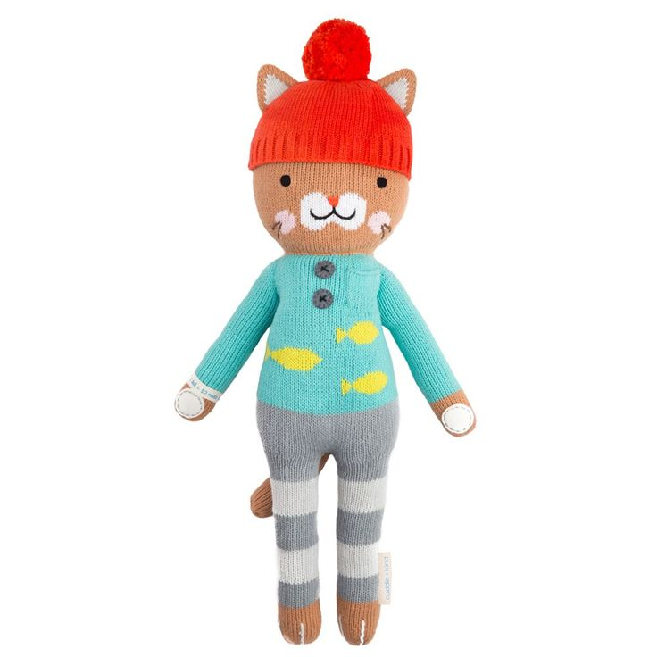 Maximus the cat helps feed children in need. 1 doll = 10 meals.