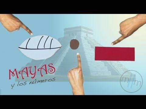 Los Mayas y los números - YouTube