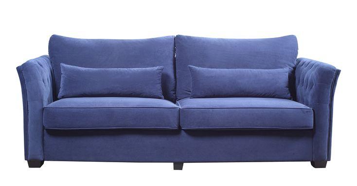 Divano Roma Furniture Classic and Traditional Velvet