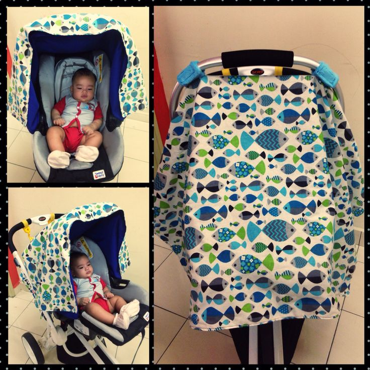 Baby carrier seat cover by me!!!