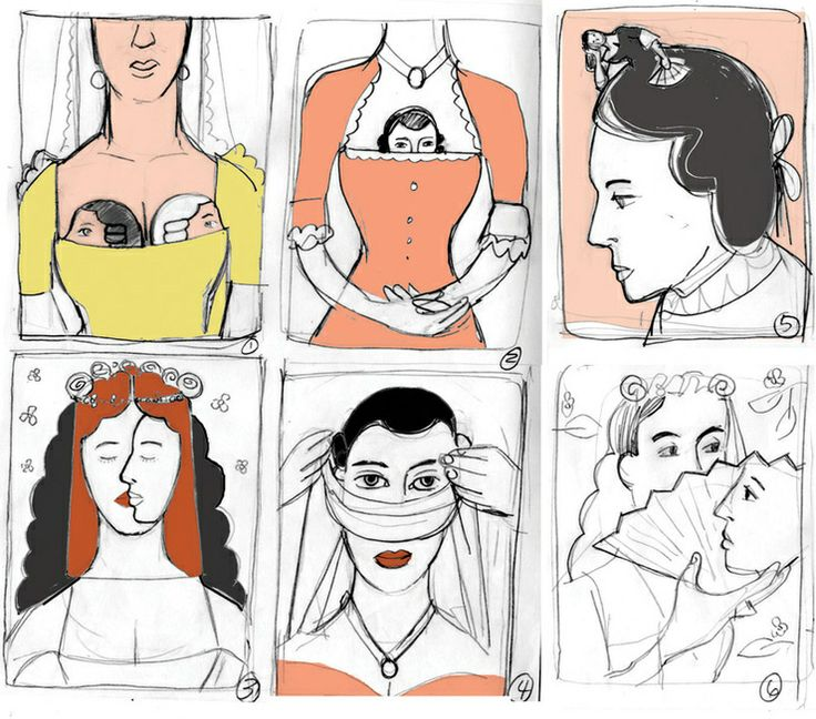 Edel Rodriguez / The Marriage of Figaro sketches