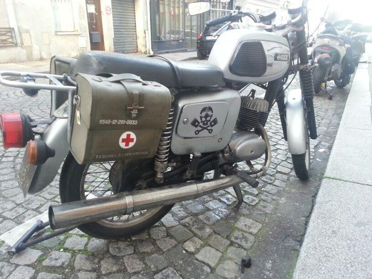 Paris Classic Motos, GMZ 250, russian motorcycle manufacturer (Gorkovski Mototsikletniy Zavod), Paris 15