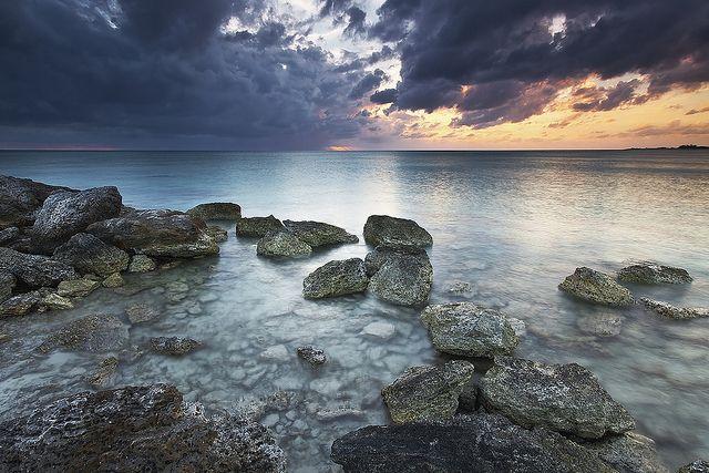 Bahama Beach - Deadman's Reef - West End, Grand Bahama Island ..oh,  what fun...night life     .