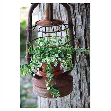 Lantern planter.....this doesn't lead to a website, so it's just for photo reference.
