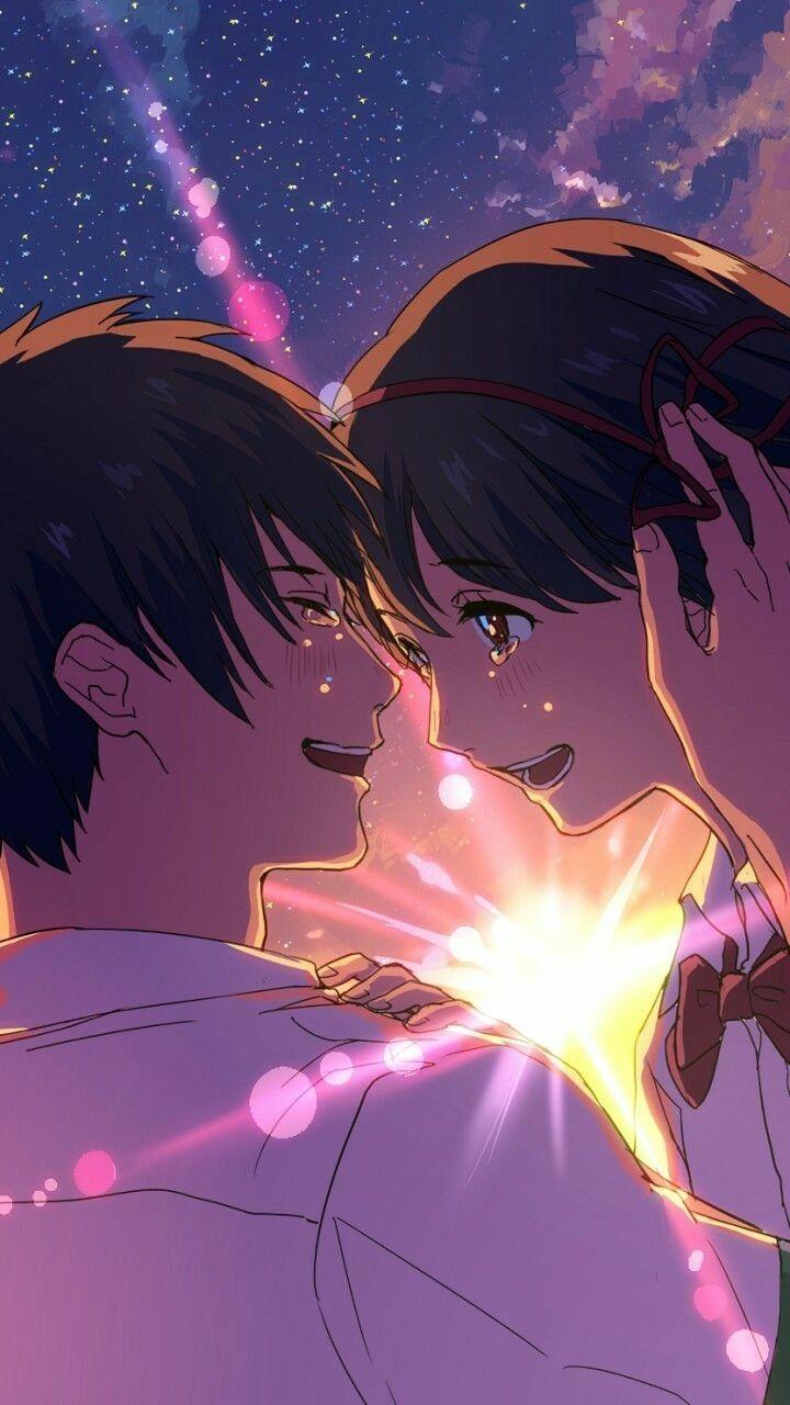 Pin De Headasschan En Your Name Anime Romance Fondos De