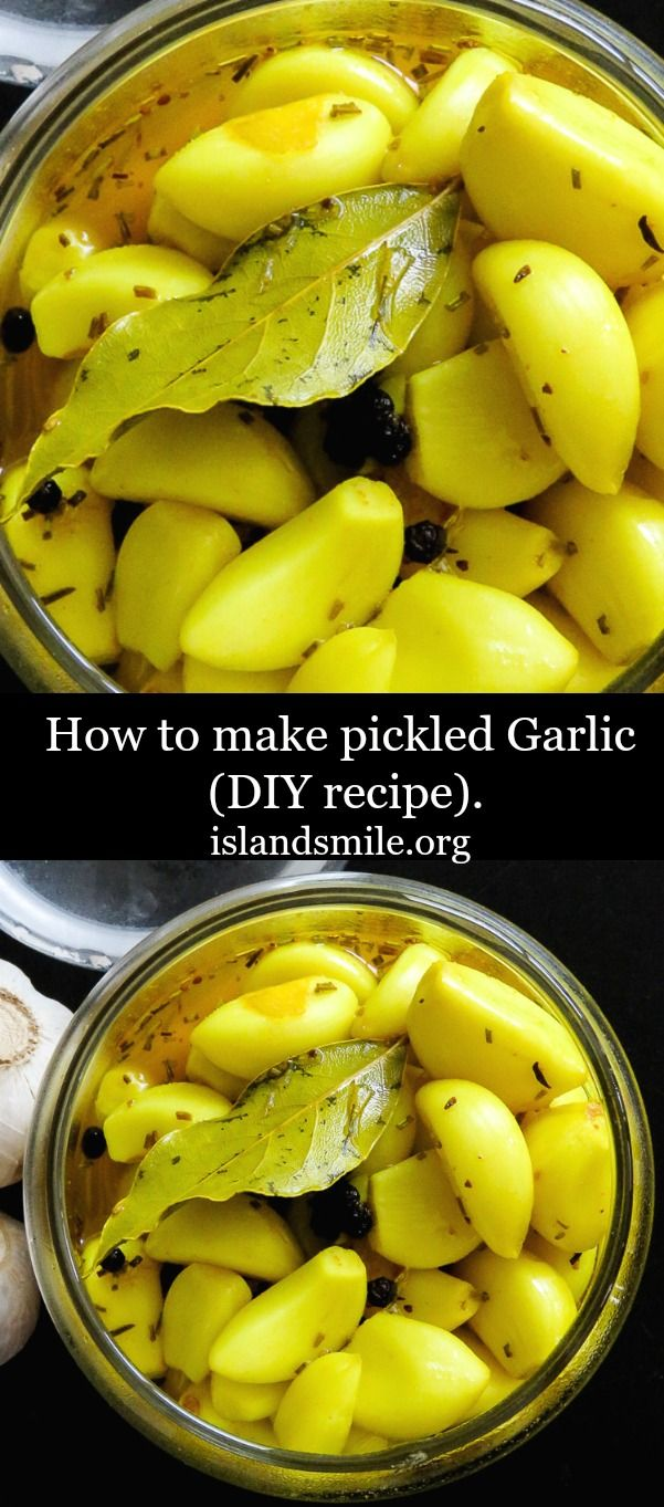 A DIY recipe to help you make a jar of naturally healthy supplement. Pickled Garlic, mildly sweet and less pungent. Diy recipe, vegan, vegetarian, gluten-free, low- carb, low-fat