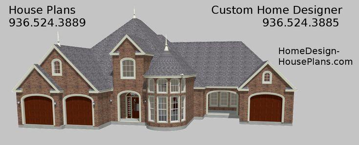 11 best house plans lake conroe 936 524 3889 montgomery for Houston custom home builders floor plans