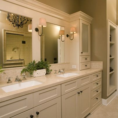 1000 images about master bathroom on pinterest medicine for White cabinet bathroom ideas