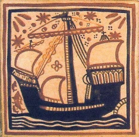 """Cerámica Artística Valencia – Azulejos y Gres - Azulejo Medieval """"Socarrat"""" - Azulejos socarrat - Galera"""